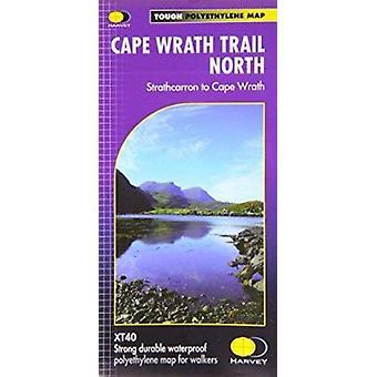Cape Wrath Trail North XT40 - Route Map by Harvey Map Services Ltd. -