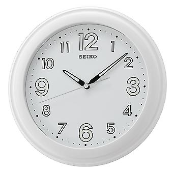 Seiko Wall Clock with Large Numbers - White (QXA721W)