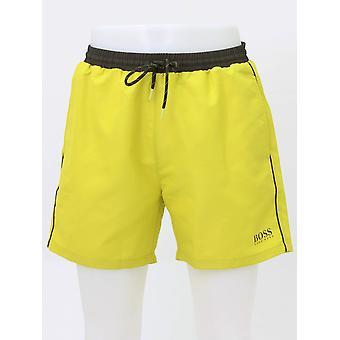 Boss Bodywear Starfish Swim Shorts -  Bright Yellow