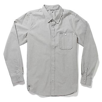 Lrg RC Chambray Long Sleeve Woven Shirt Graphite