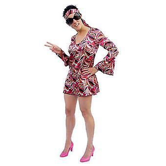 Women costumes  Disco Dress red