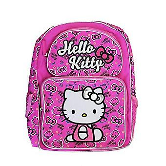 Backpack - Hello Kitty - HK Face & Bows Pink 16