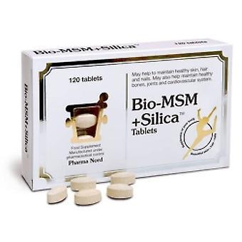 Pharmanord Bio-MSM and Silica 750mg Tabs 120