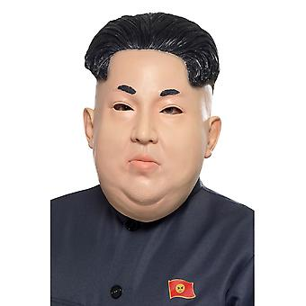 Smiffy ' s Kim Jong-un koreanska diktatorn overhead mask kött latex fancy dress