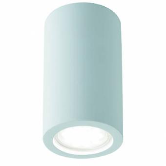 1 luz parede interior luz paintable gesso branco
