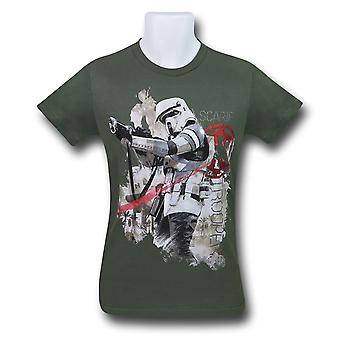 Star Wars Rogue One scarif Trooper homens ' s T-shirt
