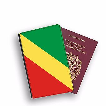 REPUBLIC OF CONGO Flag Passport Holder Style Case Cover Protective Wallet Flags design