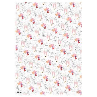 Simon Elvin Wedding Gift Wraps (24 Sheets)