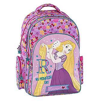 Graffiti Disney Princess Backpack - 44 cm - Pink (Lilac)