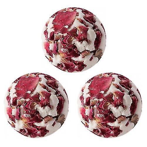 Rose Bath Creamers Gift Bag Of Three.