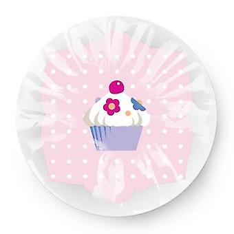 Sweet Cupcake Lightweight Elasticated Shower Cap