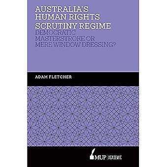Australiës mensenrechten toetsing Regime: democratische positief of alleen Window Dressing?