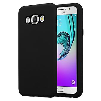 Cadorabo Case for Samsung Galaxy J7 2016 Case Cover - Hybrid Phone Case with TPU Silicone Inside and 2-Piece Plastic Outside - Protective Case Hybrid Hardcase Back Case