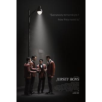 Jersey Boys Original Filmplakat - doppelseitig regelmäßig