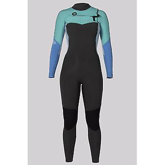 Sisstr 7 seas 4/3 chest zip wetsuit