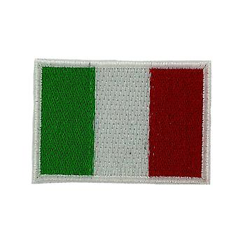 Lot 5/10/25/50 Patch Flag Italian Italian Backpack Ecusson Brode Thermocollant