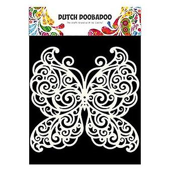 Dutch Doobadoo Mask Art Stencil - A5 Butterfly #5500