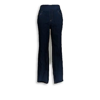 Mujeres's Jeans Soft Stretch Smooth Blue A366096