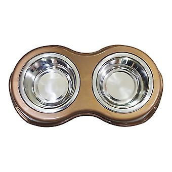Pet Diner with 2 Bowls