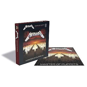Rocksaws - metallica - master of puppets - 500pc jigsaw puzzle