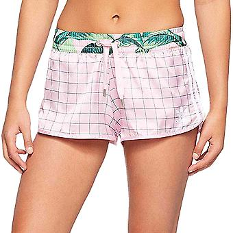 adidas Originals Womens Multicoloured Gym Fitness Sports Bottoms Shorts - Pink