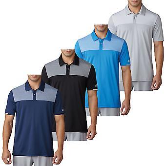 Adidas Golf Herre Heather Block konkurrence Polo skjorte