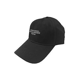 أريانا غراندي قبعة البيسبول المحلية شعار جديد الشريط الأسود الرسمي