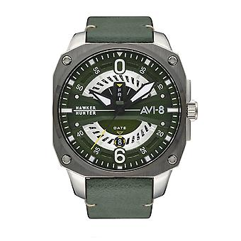 AVI-8 AV-4057-03 Hawker Hunter Green Strap Wristwatch