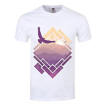 Grindstore hombres Raven Sunrise camiseta