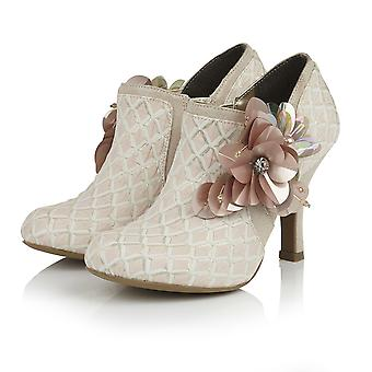 Ruby Shoo Women's Electra Brocade Jewelled Bootie & Matching Tblisi Clutch