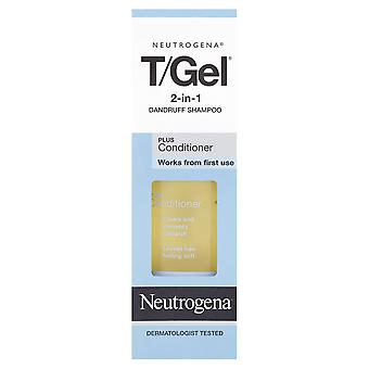 Neutrogena T/Gel 2-in-1 roos Shampoo en Conditioner