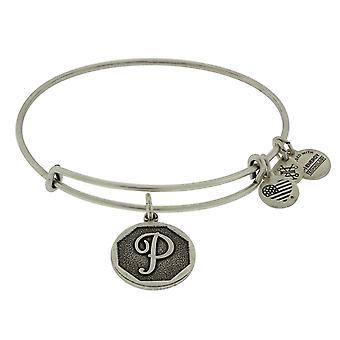Alex et Ani initiale P bracelet breloque - A13EB14PS