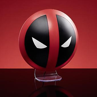 Marvel lamp Deadpool printed, made of plastic, comes in gift box, incl. USB cable.