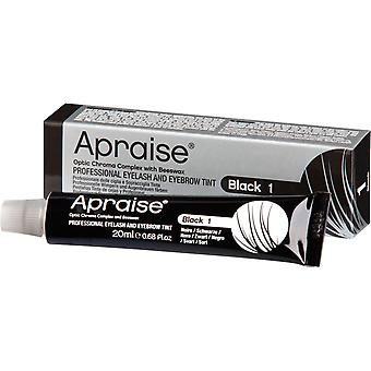 Apraise black eyelash & eyebrow tint - no. 1 20ml