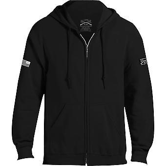 Grunt Style Basic Full Zip Hoodie 2.0 - Black