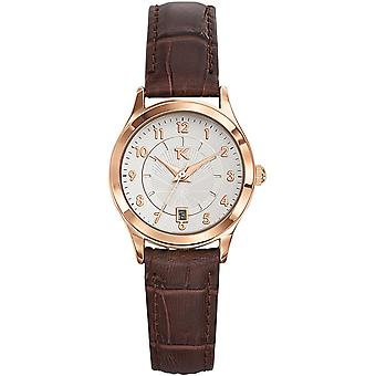 Trendy Kiss TG10057-03 - watch leather silver woman