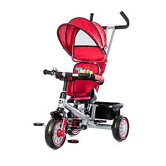 Chipolino Tricycle Twister tricycle 4 in 1, rotatable seat, sliding rod, roof