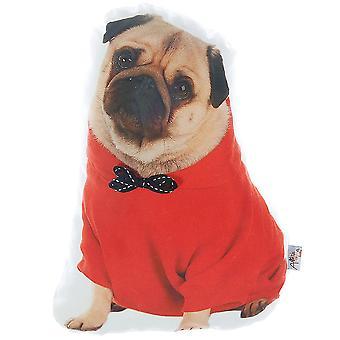 Pug Dog Shape Filled Pillow,Animal Shaped Pillow