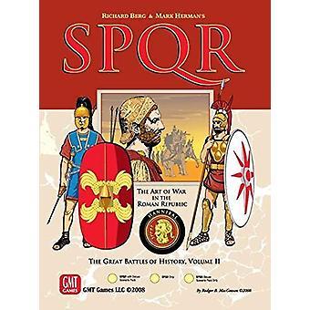 SPQR Deluxe grote gevechten van geschiedenis volume II bordspel