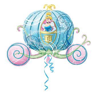 Amscan Cinderella kuljetus Supershape ilmapallo