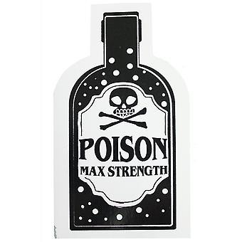 Extreme Largeness Poison Vinyl Sticker