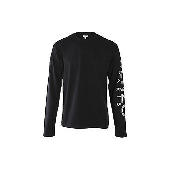 Kenzo Sport Paris Black Long Sleeve T-shirt