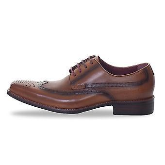 Azor Romano Formal Shoes - Tan