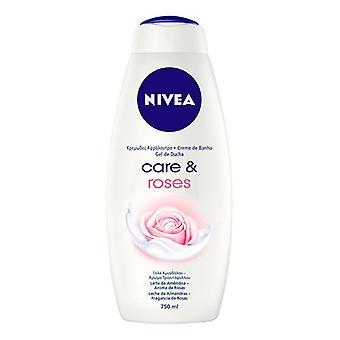 Żel pod prysznic Care & Roses Nivea (750 ml)