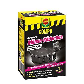 COMPO Cumarax® Hiiret Syötti Box, 1 kpl