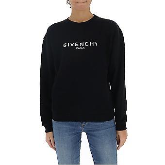 Givenchy Bw70013z0y001 Damen's schwarze Baumwolle Sweatshirt