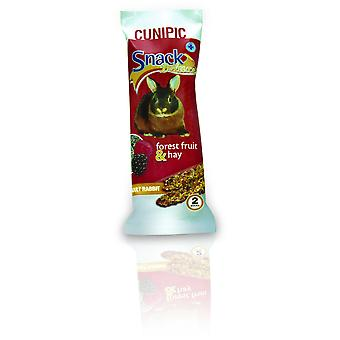 Cunipic Rabbit Adult snacks with Berries and Hay (Small pets , Treats)