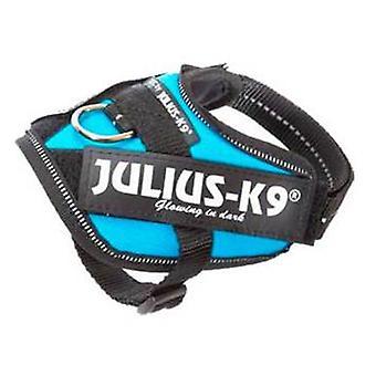 Julius K9 IDC udnytte akvamarin størrelse 0 (hunde, kraver, fører og maveposer, seler)