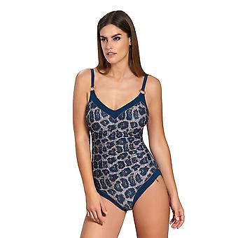 Opera 62086-26 Women's Blue Animal Blue Swimsuit