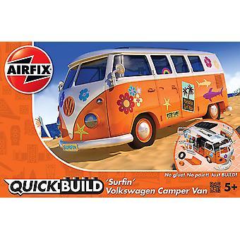Airfix J6032 quickbuild VW Camper Surfin ' modell szett